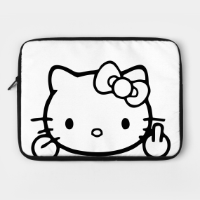 548f5a871 Hello Kitty Laptop Cases and Sanrio Fan Art | TeePublic