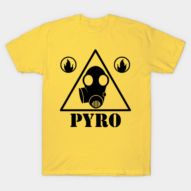 Pyro Sign Team Fortress 2 T Shirt Teepublic Uk