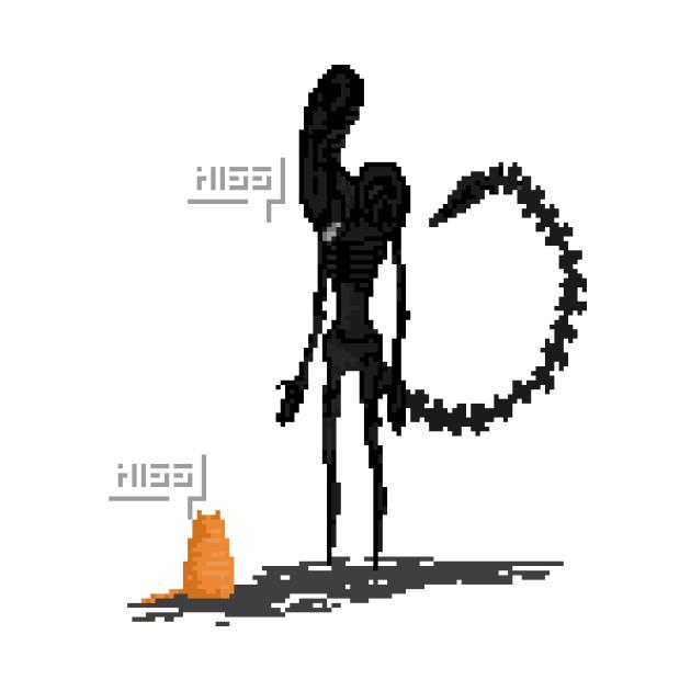 Alien vs Jonesy