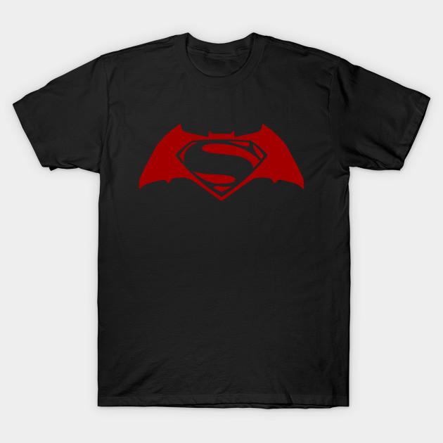 batman superman t shirt
