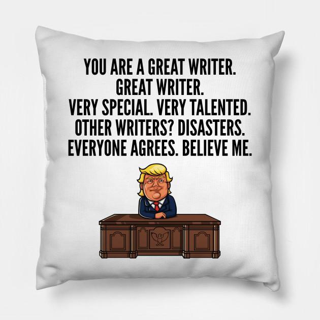 great writer trump