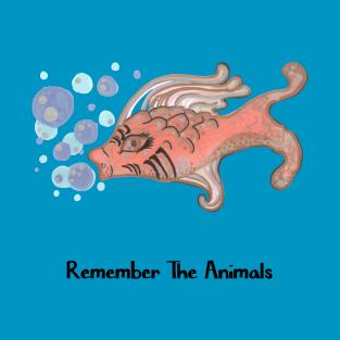 Remember The Animals Fish T-Shirt t-shirts