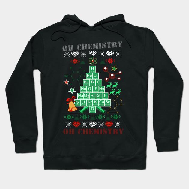 Oh Chemistree Chemistry Funny Ugly Christmas Sweater - Chemistree ...