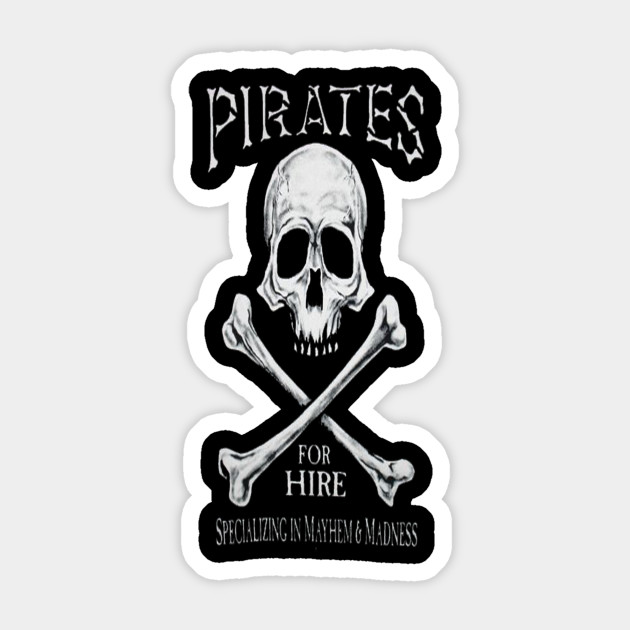 Pirates for hire halloween t shirt