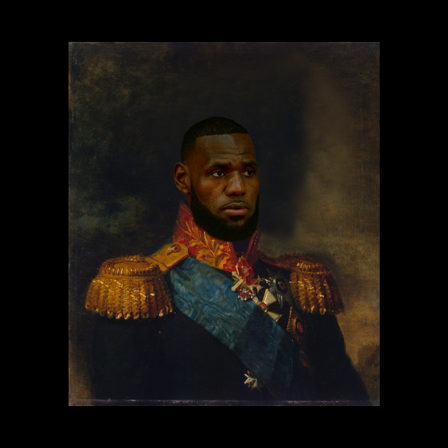 665441cd3791 Lebron James Classical Painting Lebron James Classical Painting