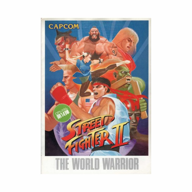 Street fighter World Warrior T shirt