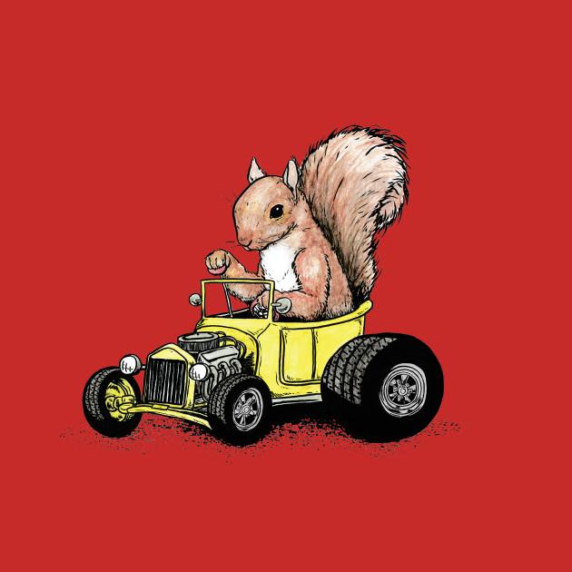 Squirrel rod
