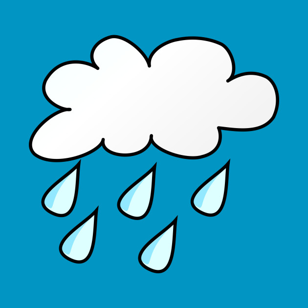 Limited Edition Exclusive Weather Symbols Rain Weather Symbols