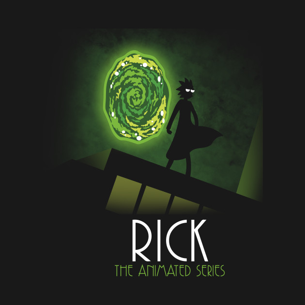 Rick the animated series