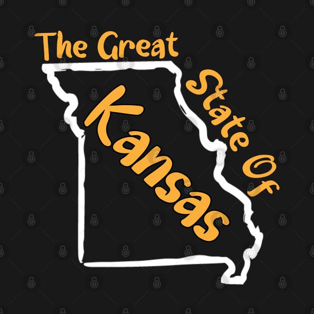 The Great state Of Kansas Missouri map