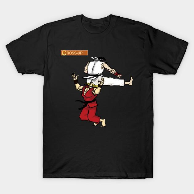Street Fighter Funny Ken Ryu Street Fighter T Shirt Teepublic