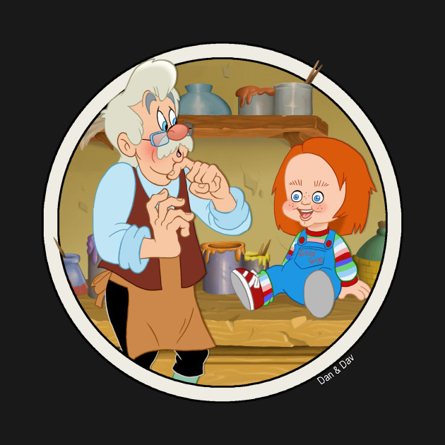Geppetto Builds Chucky