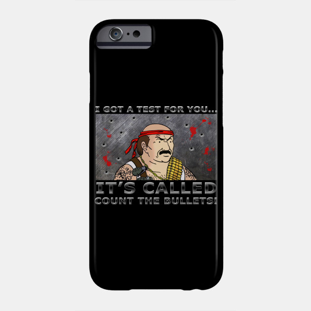 a5a318a25b9 Count the Bullets - Aqua Teen Hunger Force - Phone Case