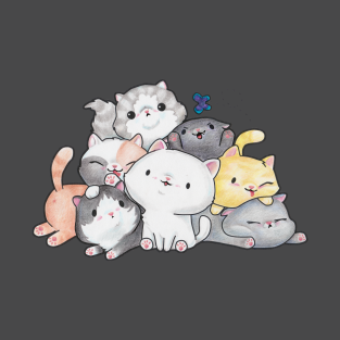Pile of Kittens t-shirts