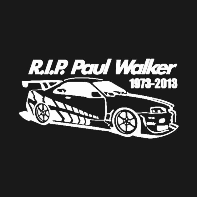 RIP Paul Walker Car Decal