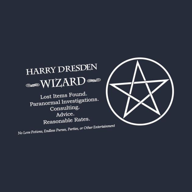 Dresden Files - Harry's Card