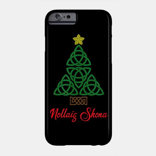 Distressed Irish Celtic Cross iphone 11 case