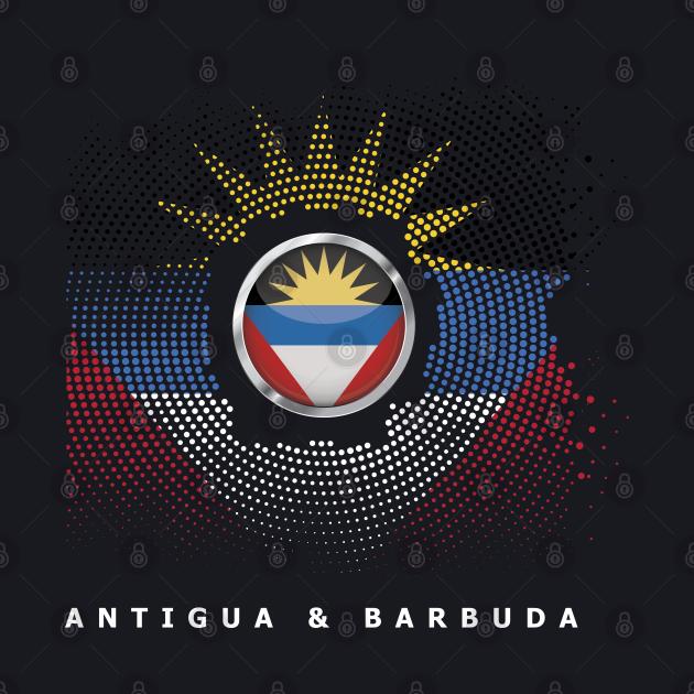 Antiguan And Barbudan Caribbean Country Saint Johns Gift Antigua & Barbuda