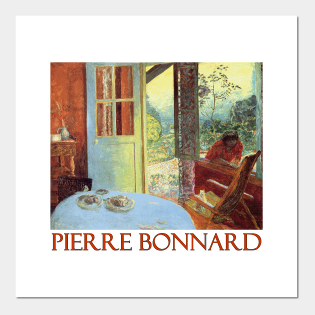 Dining Room In The Country By Pierre Bonnard Posters And Art Prints