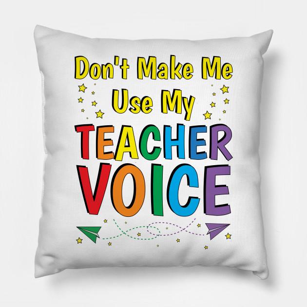 teacher gifts funny teacher sayings quotes teacher pillow