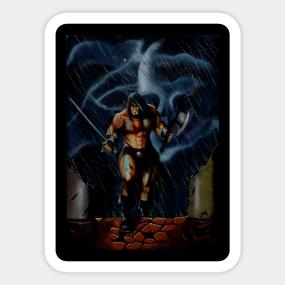 Conan The Barbarian Stickers | TeePublic