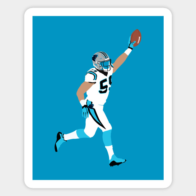 Luke kuechly sticker
