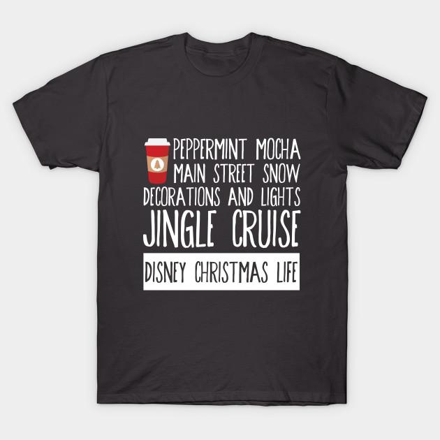 Christmas Disney Life - Disney - T-Shirt | TeePublic