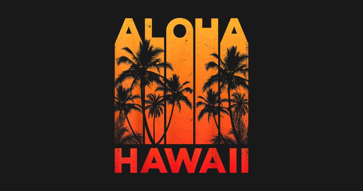 ac2adb08 Aloha Hawaii Hawaiian Island T shirt Vintage 1980s Throwback - Aloha Hawaii  Hawaiian Is - Mug   TeePublic