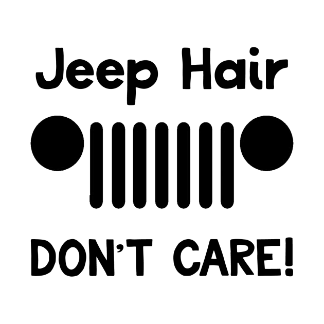 Jeep Hair Svg, Messy Bun Svg, Jeep Hair Dont Care Svg