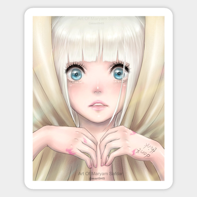I wanna swing from the chandelier sia chandelier maddie sticker 1976600 1 mozeypictures Choice Image