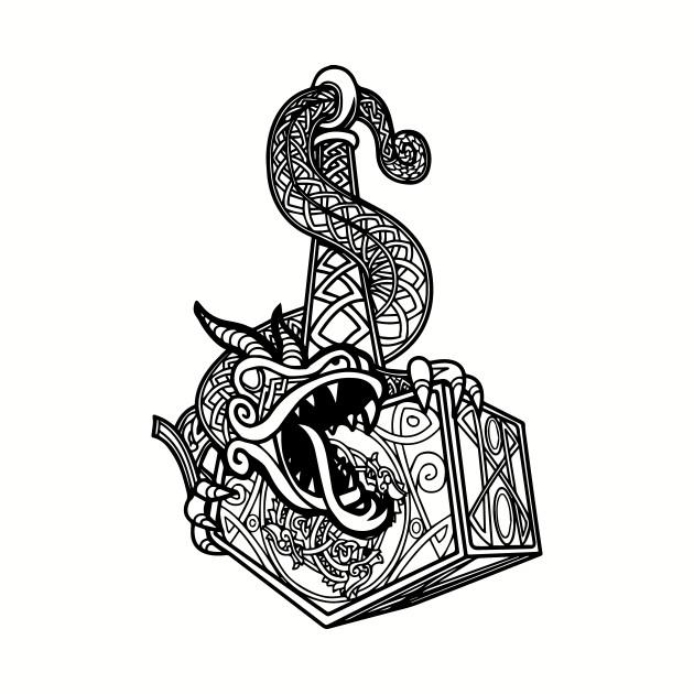 norse Mjolnir dragon