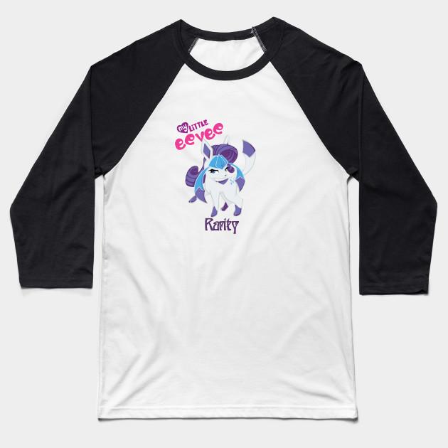 b1aa4b9c Rarity the Glaceon - Kawaii - Baseball T-Shirt | TeePublic
