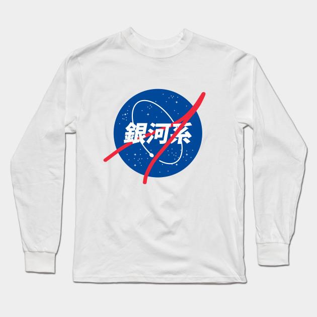 31a2df0c38da27 nasa x japan - Nasa - Long Sleeve T-Shirt | TeePublic