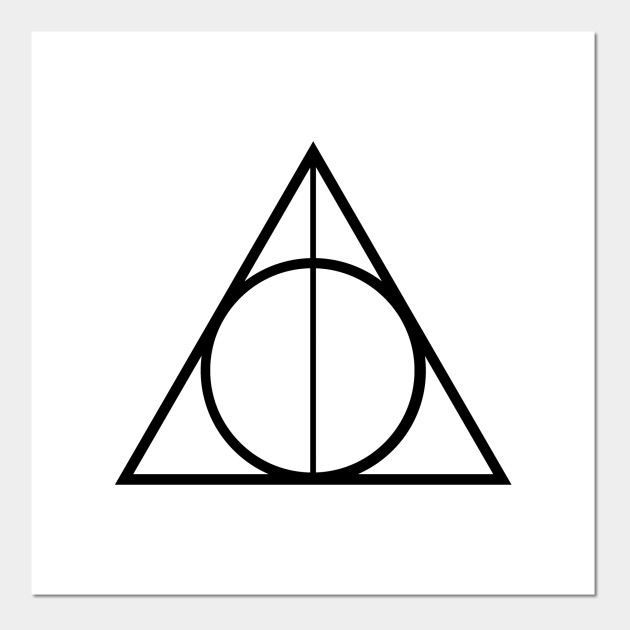 The Deathly Hallows Symbol From Harry Potter Deathly Hallows