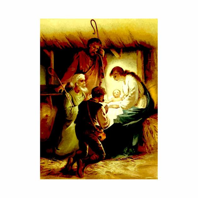 Nativity Scene Christmas Design