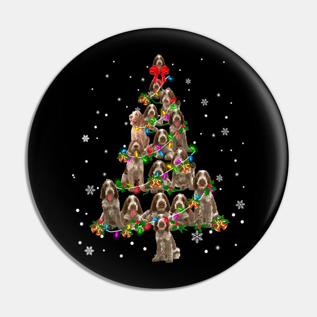 Picture Of A Christmas Tree.Spinone Italiano Christmas Tree