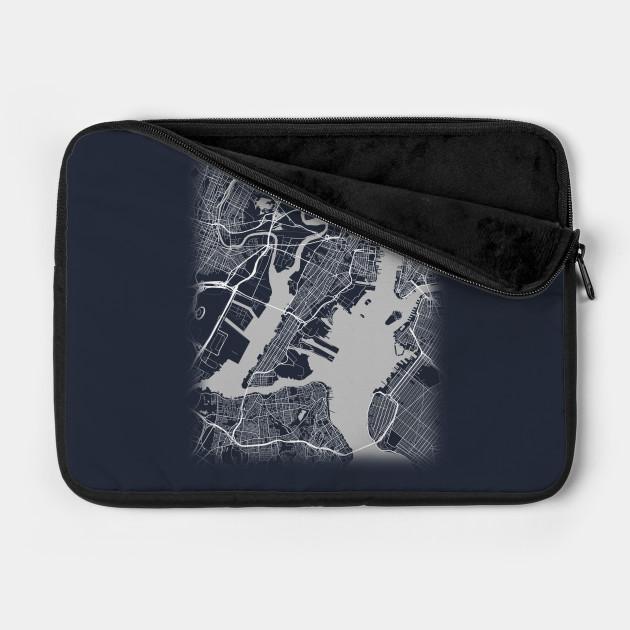 Minimal Jersey City New Jersey City Map