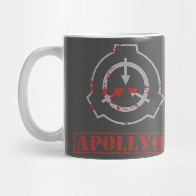 Apollyon SCP Bloody Logo Containment Breach by mellowdellow
