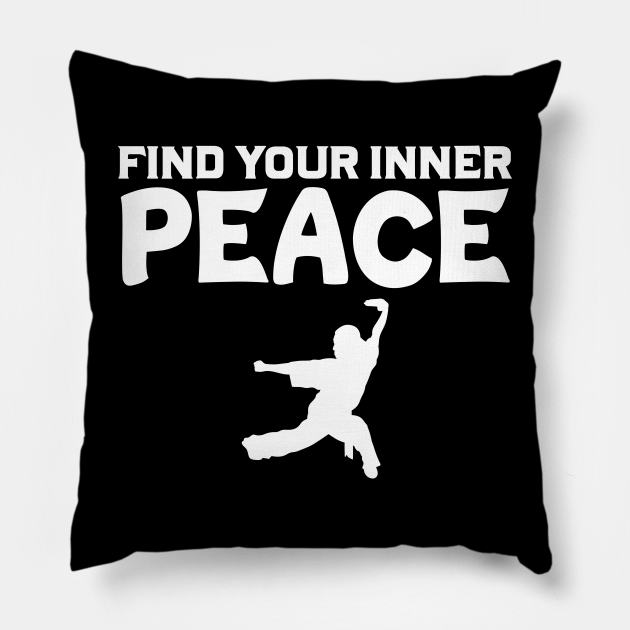 Find Your Inner Peace Wushu Lover Sanda Wushu Staff