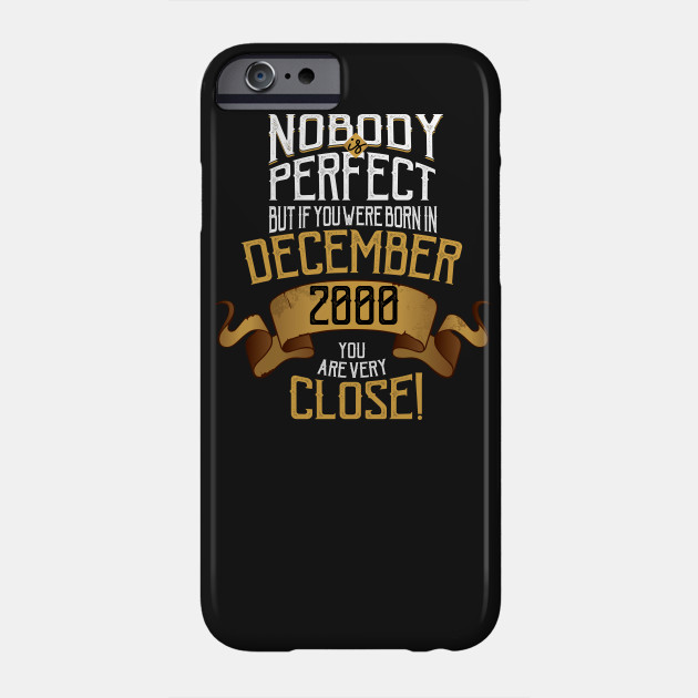 December 2000 Birthday Gift