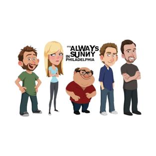 The Gang (Cartoon) - It's Always Sunny in Philadelphia t-shirts