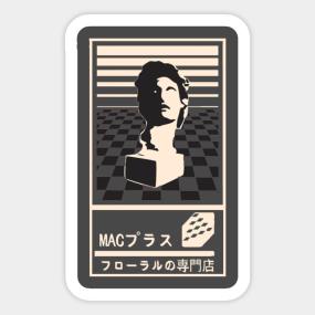 Vaporwave Aesthetic Stickers Teepublic