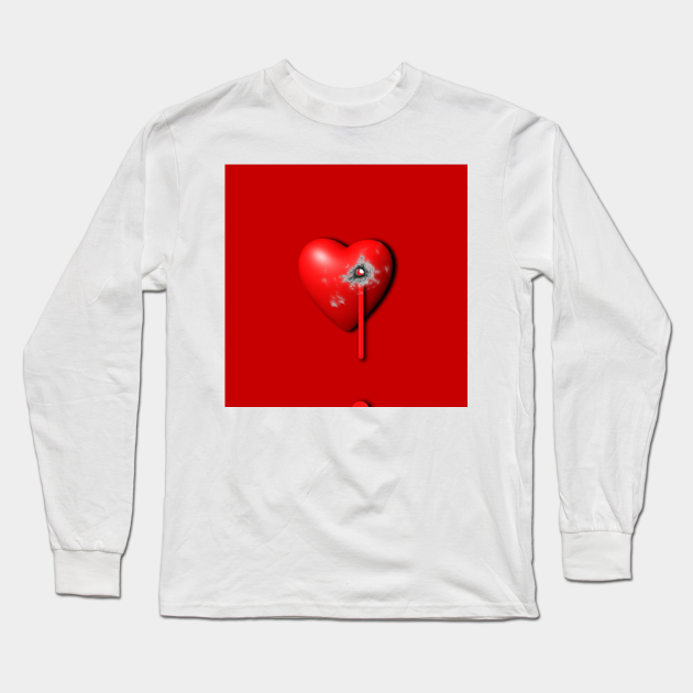 Heart Series Love Bullet Holes Love Valentine Anniversary Birthday Romance Sexy Red Hearts Valentine S Day Heart Long Sleeve T Shirt Teepublic We have several material options depending on pubg png transparent image for free, pubg clipart picture with no background high quality, search more creative png resources with no backgrounds. teepublic
