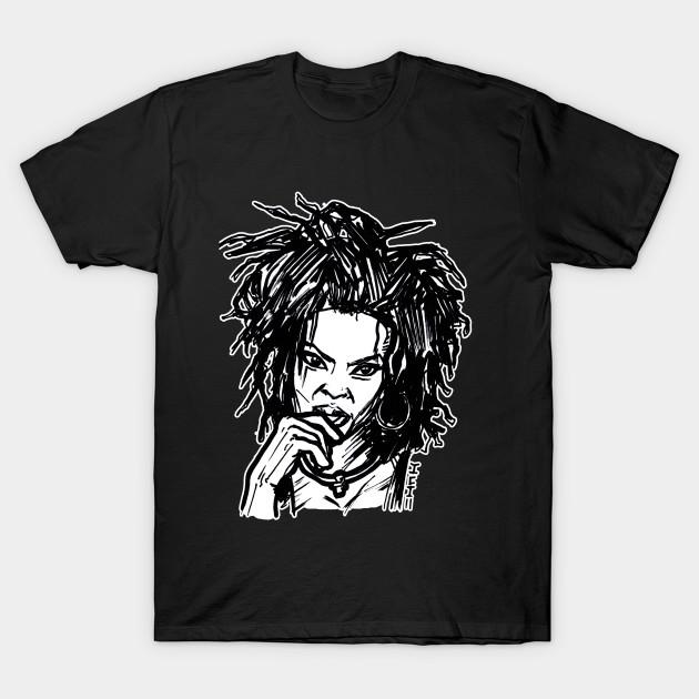 ed0e2c1b4 Miseducation Lauryn Hill Fugee - Old School - T-Shirt   TeePublic