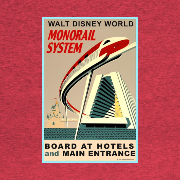 Monorail Attraction Poster