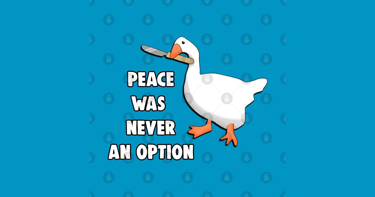 Peace Was Never An Option Meme - Peace Was Never An Option ...