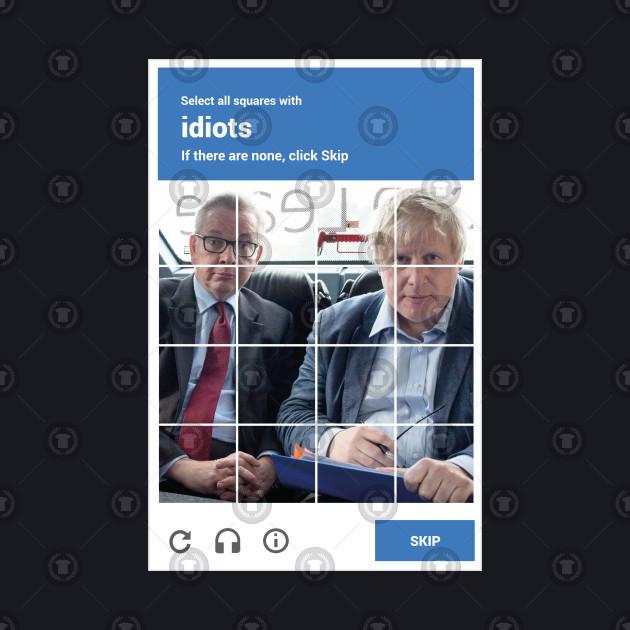 reCAPTHCHA -- Michael Gove & Boris Johnson