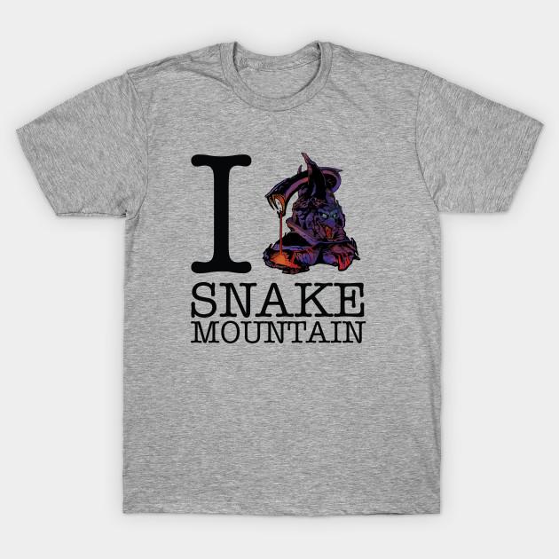 778064489016 I Love Snake Mountain Masters Of Universe - He Man - T-Shirt   TeePublic