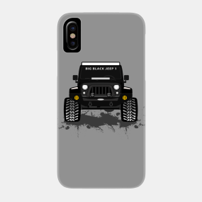 size 40 c1b0e 649fd Jeep Grill Phone Cases - iPhone and Android | TeePublic