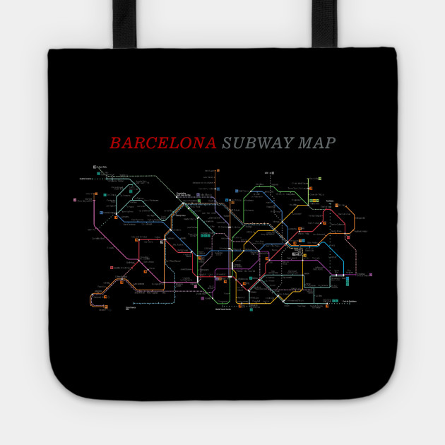 Barcelona Subway Map.Barcelona Subway Map Metro Underground